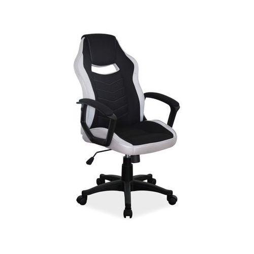 Fotel Signal CAMARO gamingowy czarny/szary, obciążenie do 140 kg!