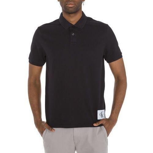 Calvin Klein Pontos Polo Koszulka Czarny S (8719113216773)