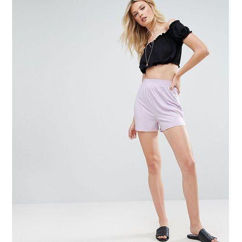 ASOS TALL Culotte Shorts - Purple