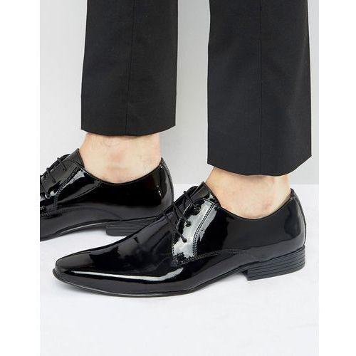 KG By Kurt Geiger Kendal Patent Derby Shoes - Black