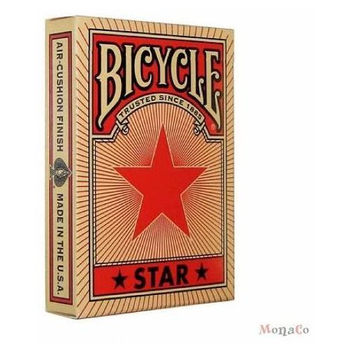 Uspcc - u.s. playing card compa Karty bicycle red star - uspc karty bicycle red star - uspc