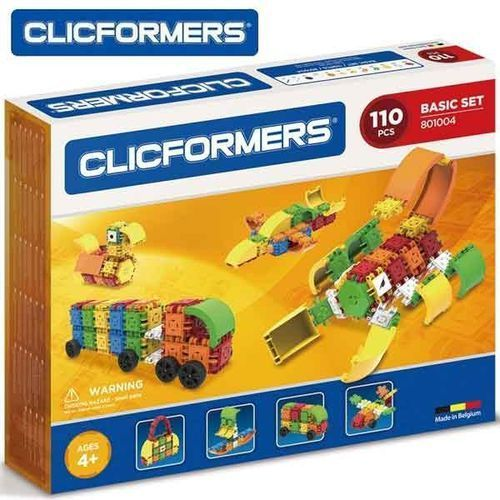 Clicformers 110 elementów - Clicstoys DARMOWA DOSTAWA KIOSK RUCHU (8809465532710)