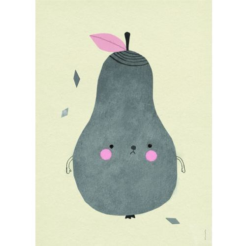 Plakat Gruszka PIRUM PARUM - Fine Little Day. Najniższe ceny, najlepsze promocje w sklepach, opinie.