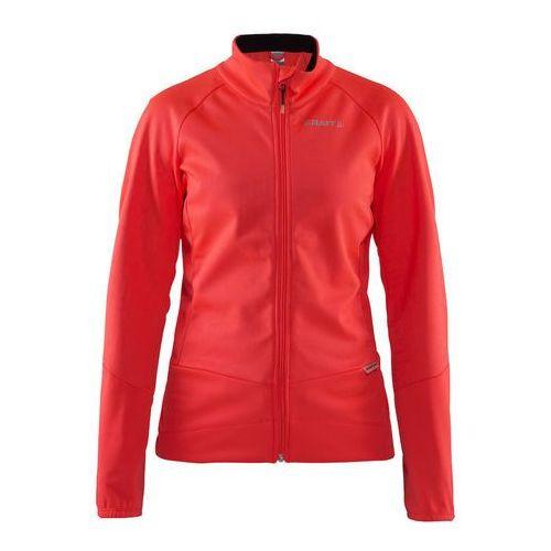 Craft rime 1905444-801000 damska softshellowa kurtka rowerowa różowa