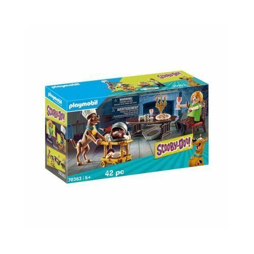 Playmobil Zestaw figurek Scooby-Doo Kolacja z Shaggy 70363 70363 70363 (4008789703637)