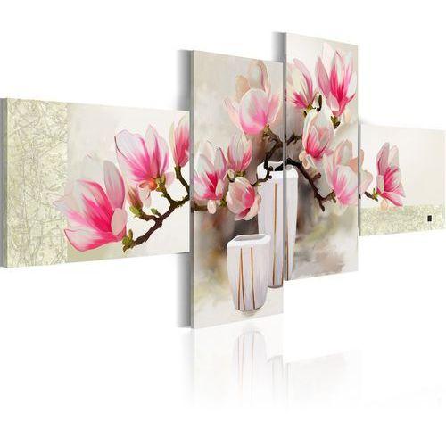 Obraz malowany - zapach magnolii marki Artgeist
