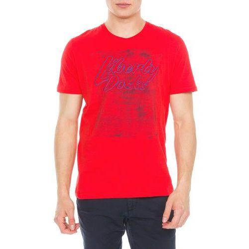 Tom Tailor T-shirt Czerwony M, 1 rozmiar