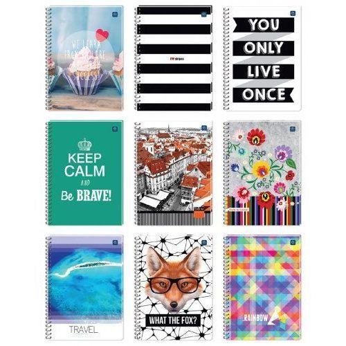 Kołozeszyt a5/100 kartek w linie marki Interdruk