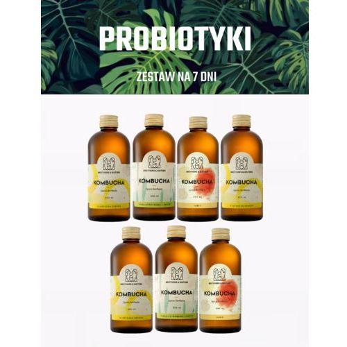 Tygodniowy Zestaw KOMBUCHY - Zdrowe Jelita! / Dieta sokowa / Detoks sokowy (5907518370098)
