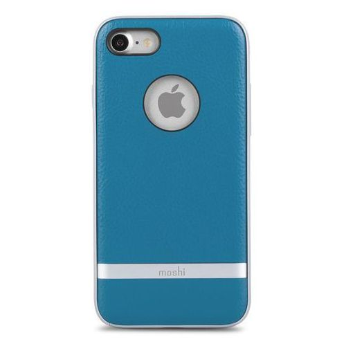 "Moshi Iglaze Napa iPhone 7 4,7"" - Marine Blue, kolor niebieski"