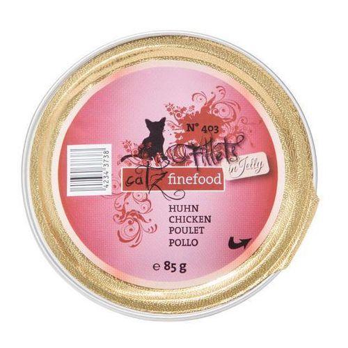 Catz Finefood FILLETS pasztet 85 g - No.411 - indyk, kurczak i jagnięcina