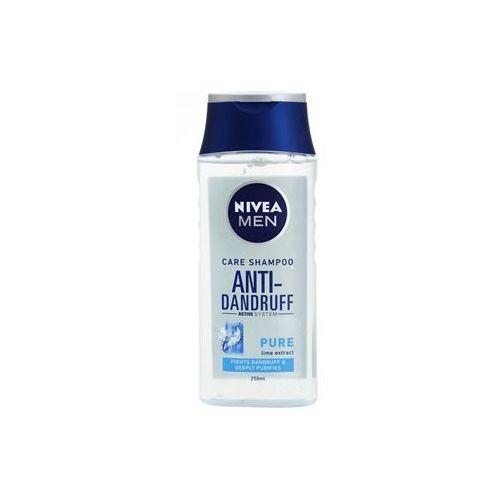 men pure szampon przeciwłupieżowy do włosów normalnych i przetłuszczających się (pure lime extract) 250 ml marki Nivea