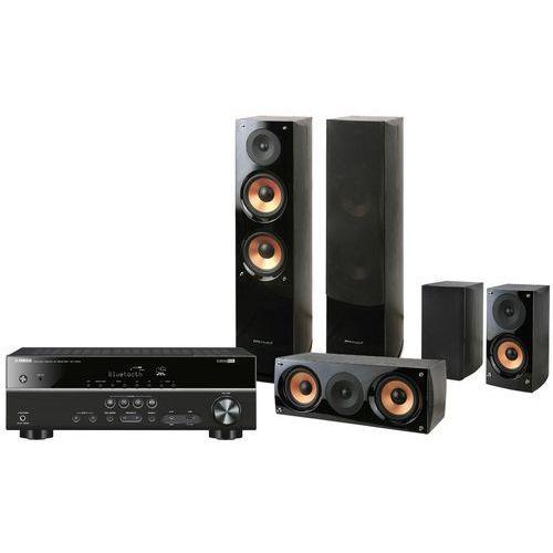 Kino domowe YAMAHA RXV383BL + Pure Acoustics NOVA 6 Czarny + DARMOWY TRANSPORT!