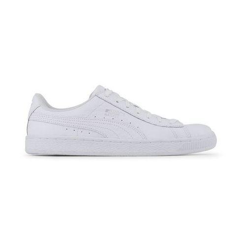 Puma Buty unisex sneakersy basket classic 363075-01 białe