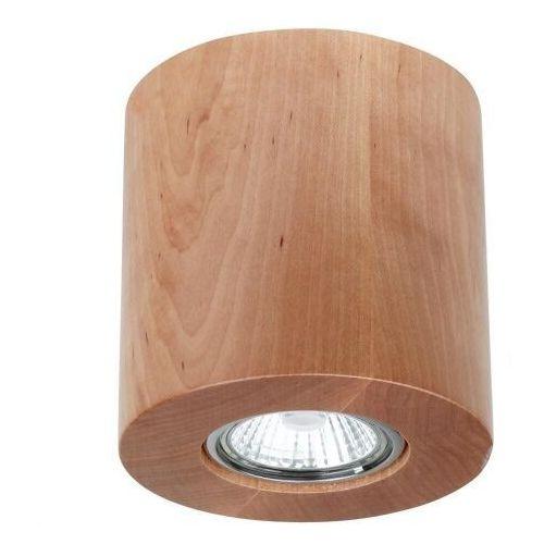 Spot light Wooddream oprawa natynkowa 230v drewno brzoza 2366160