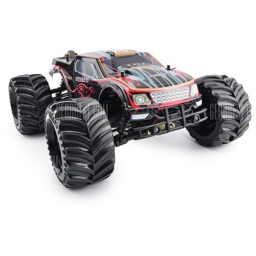 Gearbest Jlb 2.4g cheetah 1 : 10 scale 4 wheel drive high speed buggy rc racing car