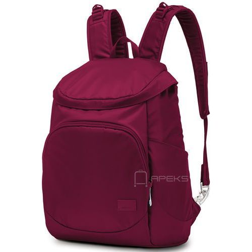"citysafe cs350 plecak damski na laptop 13"" / cranberry - cranberry marki Pacsafe"