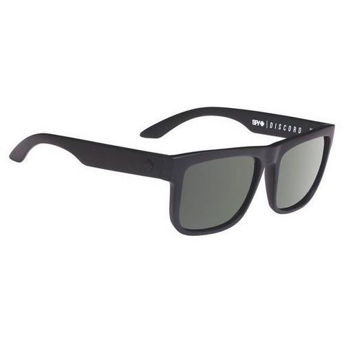 Okulary Słoneczne Spy DISCORD Polarized SOFT MATTE BLACK - HAPPY GRAY GREEN POLAR