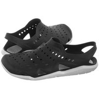 Crocs Sandały swiftwater wave m black/pearl white 203963-069 (cr148-c)
