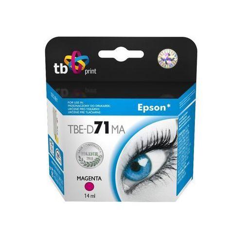 Tb print tusz tbe-d71ma (epson t071340) purpurowy 100% nowy