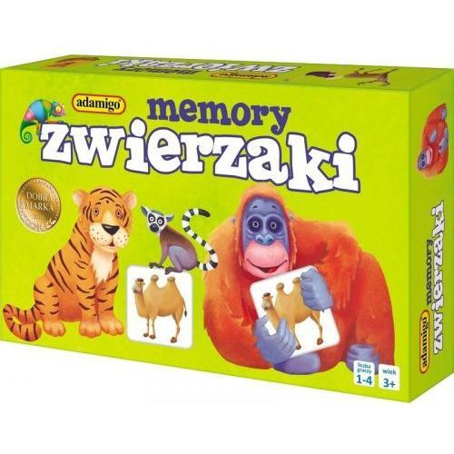 Memory Mini - Zwierzaki - DARMOWA DOSTAWA OD 199 ZŁ!!!, 5_605133