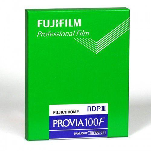 """Fujifilm provia 100 f 4x5""""/20 szt."""