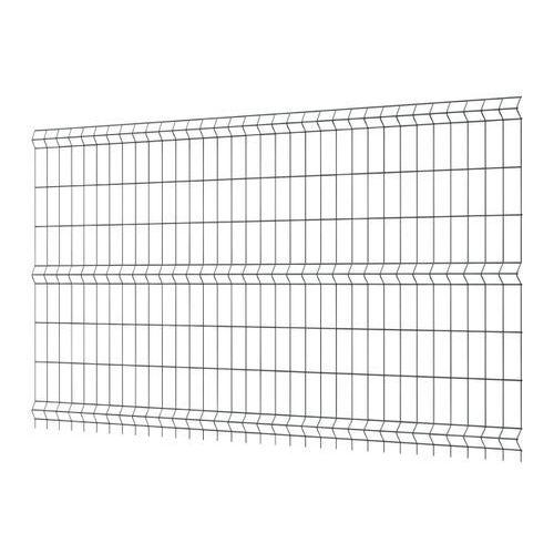 Panel ogrodzeniowy 153 x 250 cm oczko 7,5 x 20 cm ocynk antracyt marki Polargos