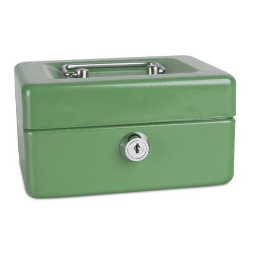 Kasetka na pieniądze DONAU mała - zielona