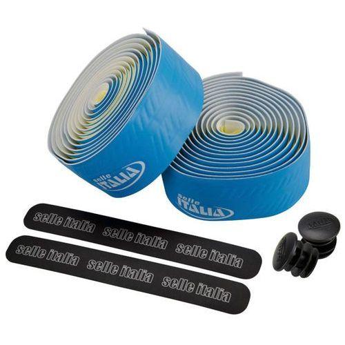 Owijka na kierownicę SELLE ITALIA CONTROLLO gr.2,5mm żelowa niebieska, SIT-0000000000E24