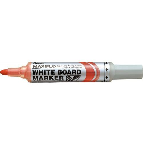 Marker suchościeralny Pentel Maxiflo MWL5M czerwony