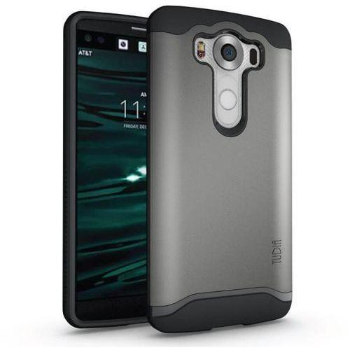 Tudia Merge Metal Slate | Obudowa dla LG V10 - Metal Slate