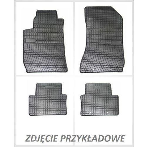 Dywaniki gumowe czarne z kompletem stoperów - Seat Cordoba (III) 2002-2008