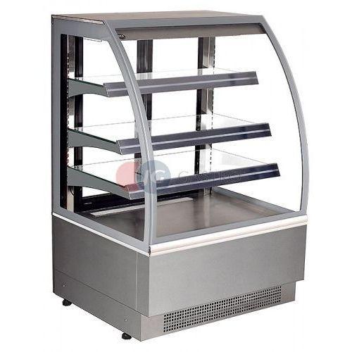Juka Lada/witryna cukiernicza chłodnicza zamknięta vienna 600x800x1360 h  vn/z 60/ch