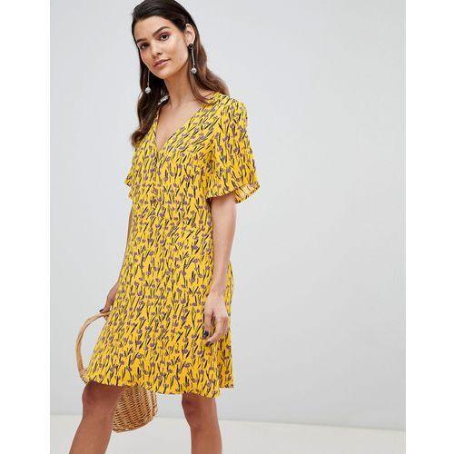 Y.A.S floral mini tea dress - Multi, w 4 rozmiarach