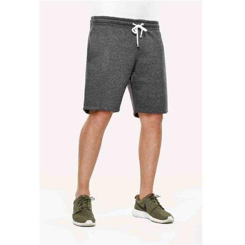 szorty REELL - Sweat Short Dark Grey Melange (DARK GREY MELANGE) rozmiar: XL