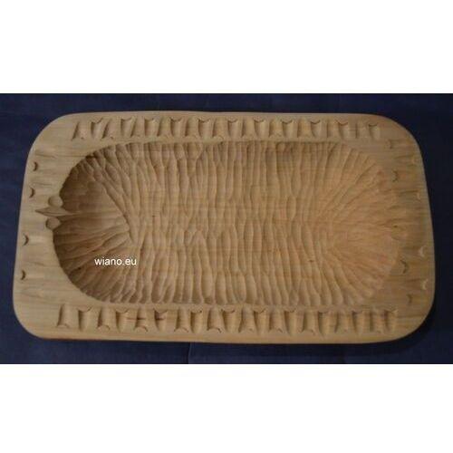 Miska karpacka, drewniana, rzeźbiona 25x14 cm (ag-9) marki Twórca ludowy