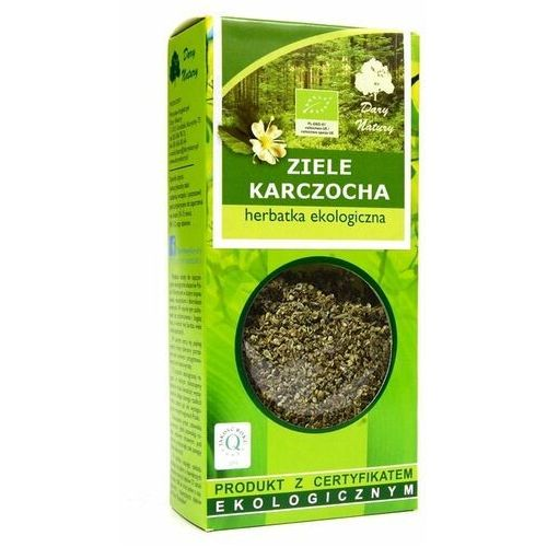 Ziele Karczocha - Karczoch ziele - Herbatka Ekologiczna -50g Dary Natury, 5902741006097