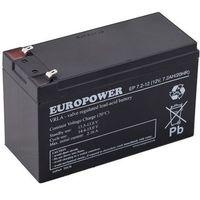 Ep 7,2 - 12 akumulator 12v 7.2 ah agm ep 6-9lat  marki Europower