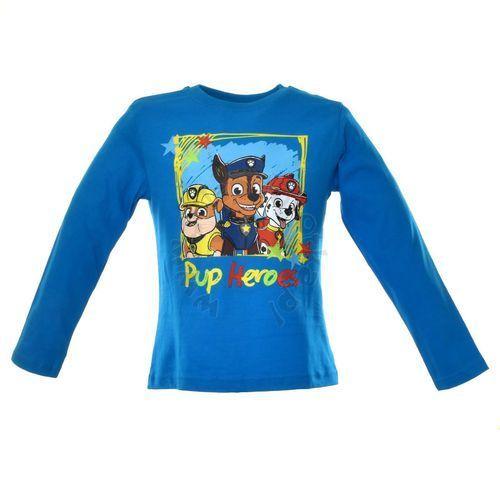 Licencja - inne Bluzka dziecięca z wizerunkiem bohaterów bajki psi patrol - niebieski   kolorowy