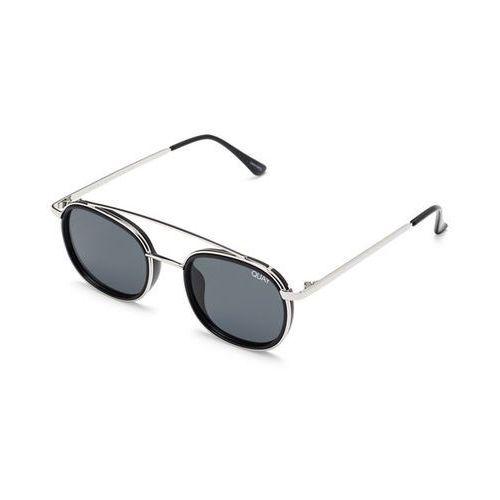 Okulary słoneczne qm-000307 got it covered slvblk/smk marki Quay australia