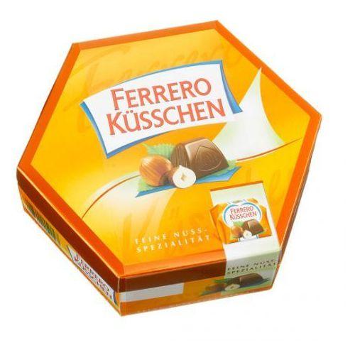Ferrero Küsschen - Pralinki czekoladowe z orzechami laskowymi 178g