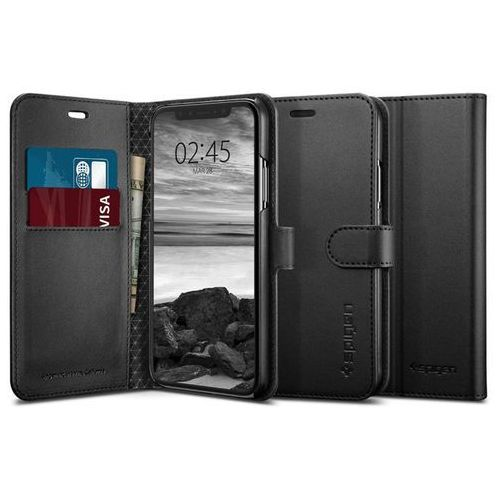 Spigen Etui wallet s portfel apple iphone xs max black