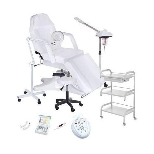 Fotel kosmetyczny + Zestaw Gabinet Medium