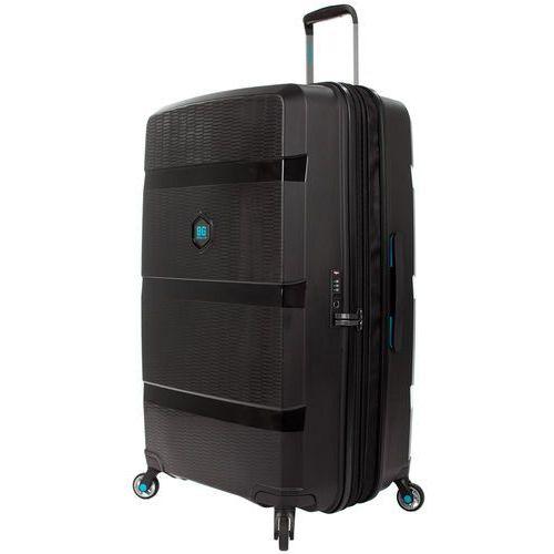 Bg berlin zip2 walizka duża poszerzana 81 cm / rock-star black - rock-star black
