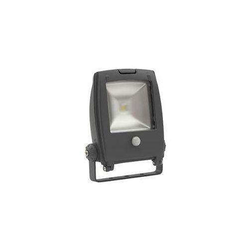 Naświetlacz led z czujnikiem ruchu rindo mcob-10-gm se ip65 18483  marki Kanlux