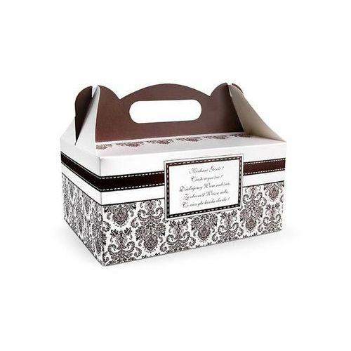 Ap Ozdobne pudełko na ciasto weselne 1sztuka (5901157433145)