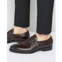 Aldo Korelle Monk Shoes In Brown Leather - Brown, kolor brązowy