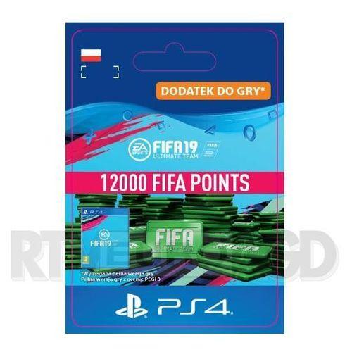 Fifa 19 12000 punktów [kod aktywacyjny] marki Sony