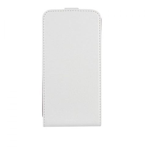 Xqisit Flipcover do Samsung Galaxy S5 biały, kolor biały