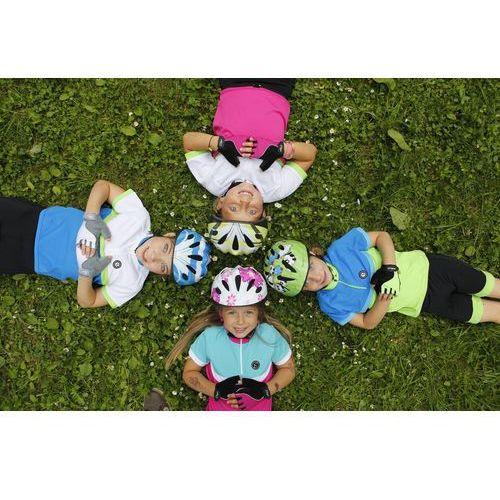 Etape koszulka na rower Bambino Blue/Yellow Fluo 128/134